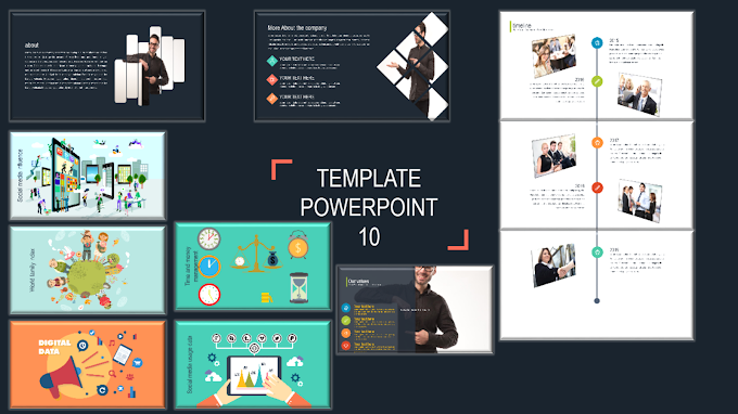 Template PowerPoint 10 - 150 slides