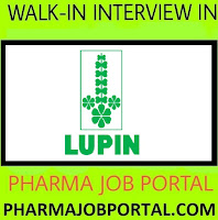 LUPIN LIMITED Urgent Openings For Quality Assurance, Quality Control, EHS Departments - Apply Now
