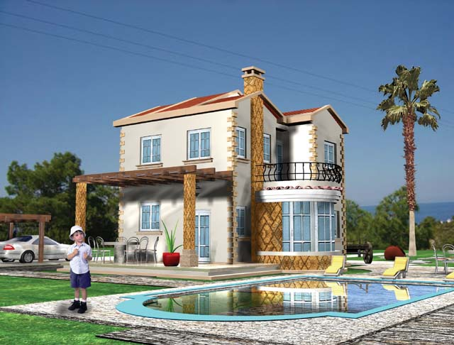 New home designs latest modern villas exterior designs for Village home designs