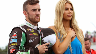 Austin Dillon and his Wife Whitney Ward