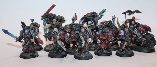 painted deathwatch