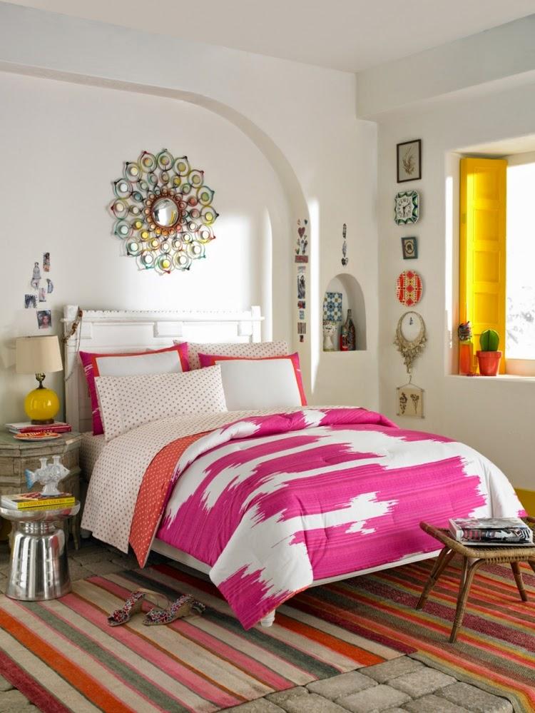 Decoracin De Dormitorios Juveniles Femeninos Awesome Decoracion - Como-decorar-habitacion-juvenil-femenina