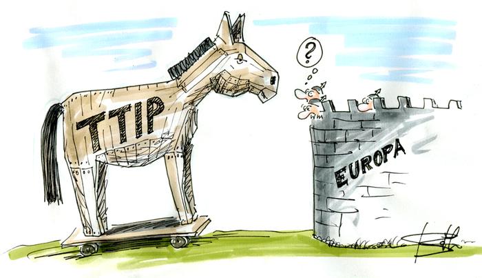 TTIP o cavalo de Tróia na Europa