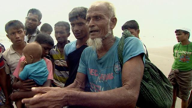 Rohingya man - Zakir Mamun mengatakan bahwa tentara Burma menyerang desa-desa mereka