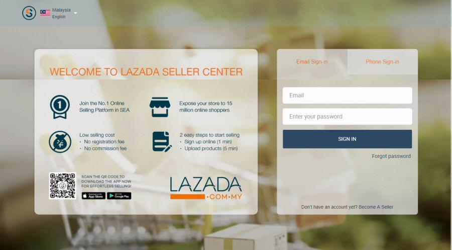 Lazada Seller Center Malaysia