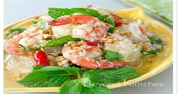 Pomelo Prawn Salad Recipe