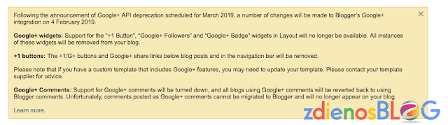 announcement - Update Terbaru Google+ dan Blogger