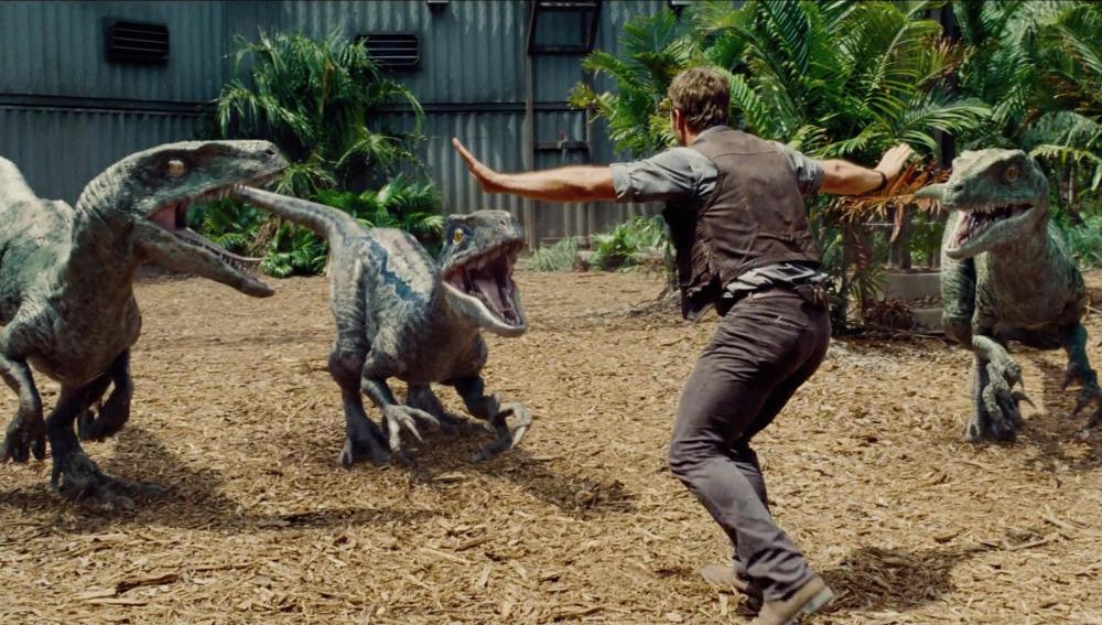 Fundacion dinosaurios cyl 39 jurassic world 39 el parque for Puerta jurassic world