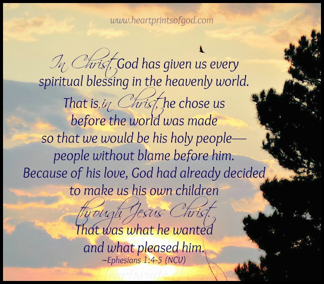 Heartprints Of God: In CHRIST, We Are . . . His Own~