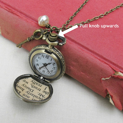 jane austen pride and prejudice mr darcy pocketwatch necklace pocket watch two cheeky monkeys set time on a watch