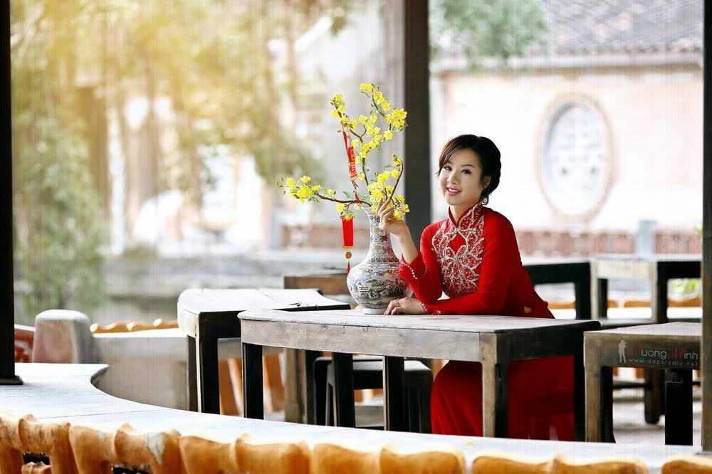 Ảnh đẹp girl xinh Áo dài truyền thống Việt Nam - Ảnh 03