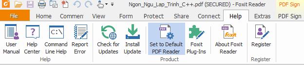 Download phần mềm đọc file PDF Foxit Reader 9.0 mới nhất ab