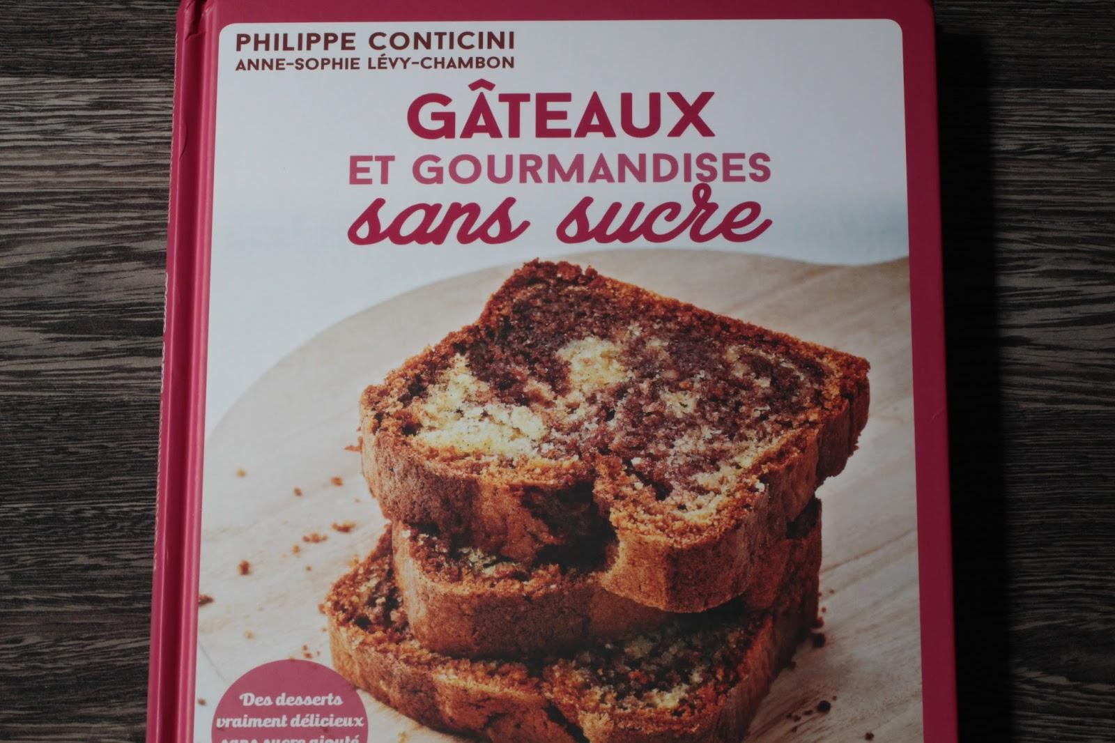 Gâteau à la noisette sans sucre de Conticini