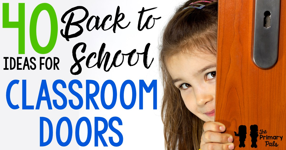 "There is something about a freshly decorated classroom door that just says ""Welcome Back to School"". Of course the options for dressing up your door are truly limitless but there are a few things to consider when planning your masterpiece."