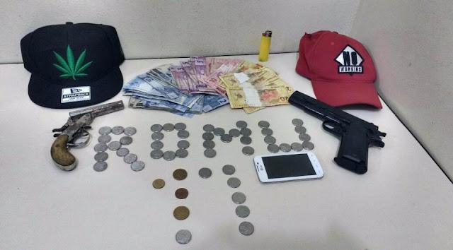 ROMU da Guarda Municipal de Ponta Grossa (PR) flagra assalto a farmácia e detém marginais