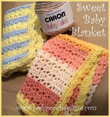 Sweet Baby Doll Blanket by Sara @ Posh Pooch Designs
