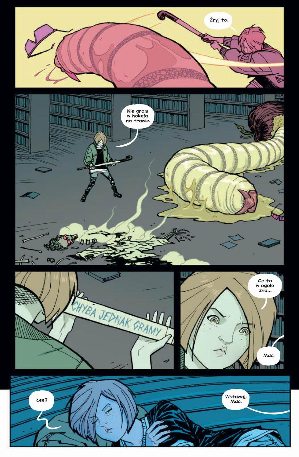 Paper Girls tom 5 przykładowa strona