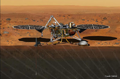 MARSQUAKE IN SIGHT AS NASA ROBOT PICKS UP RUMBLING SOUNDS ON MARS