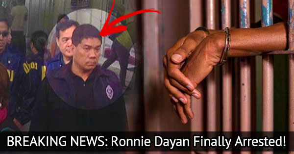 BREAKING NEWS: Sen. Leila de Lima's Rumored Lover Ronnie Dayan Arrested By Police!