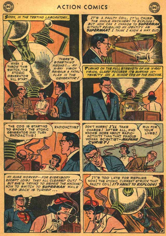 Read online Action Comics (1938) comic -  Issue #198 - 10