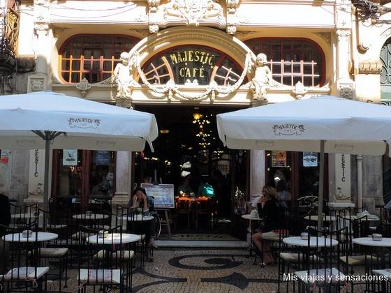 Rua Santa Catarina, Café Majestic, Oporto, Portugal