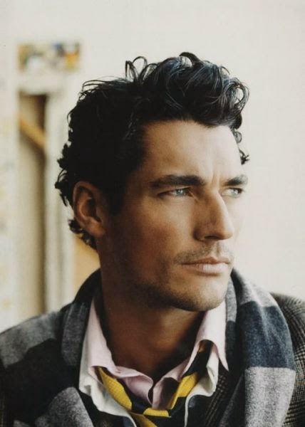Hairstyle Advice David Gandy Britain S Top Male Model