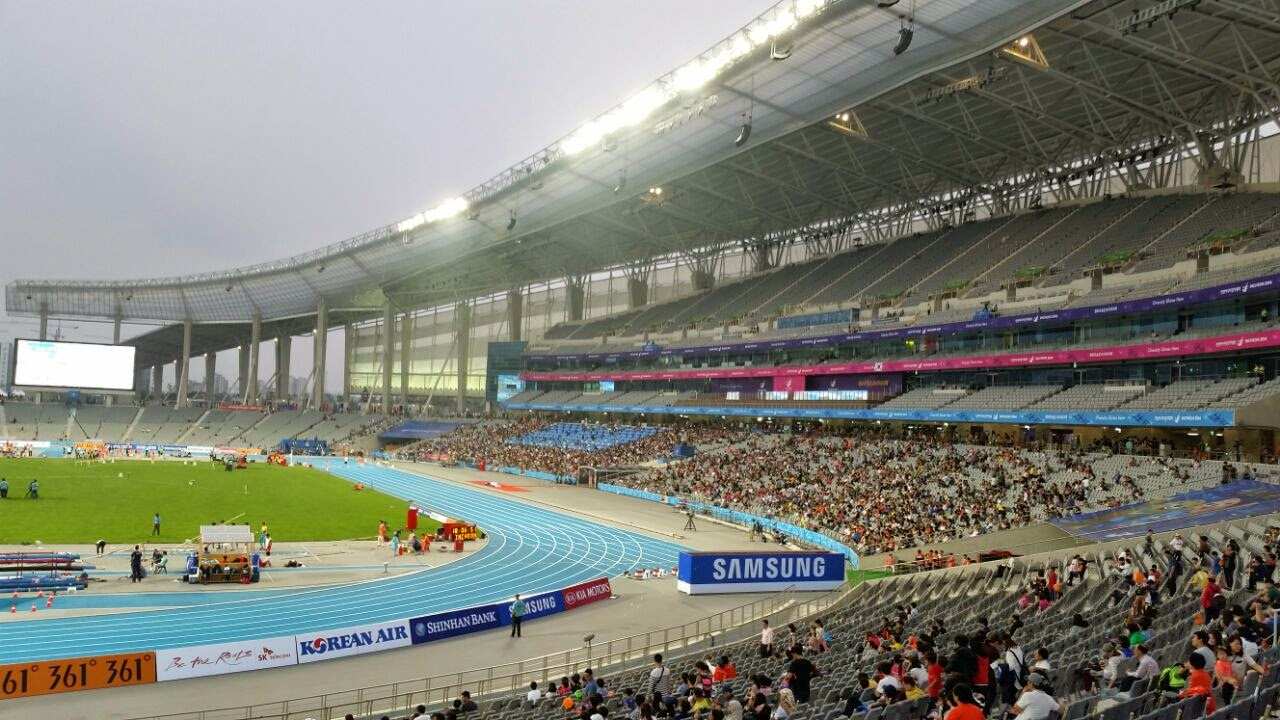 The main stadium of the asian games