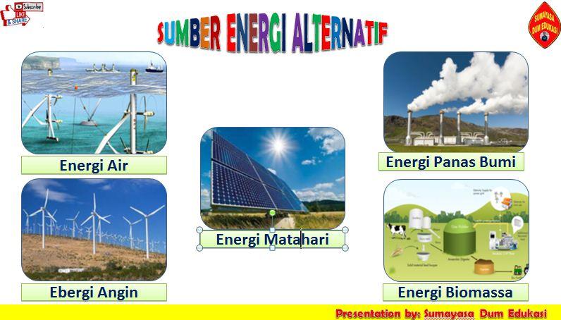 Energi Alternatif Sumber Energi Alternatif By Sumayasa Blogspot