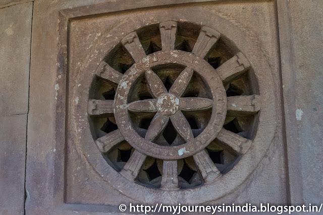 Aihole Durga Gudi Temple Windows