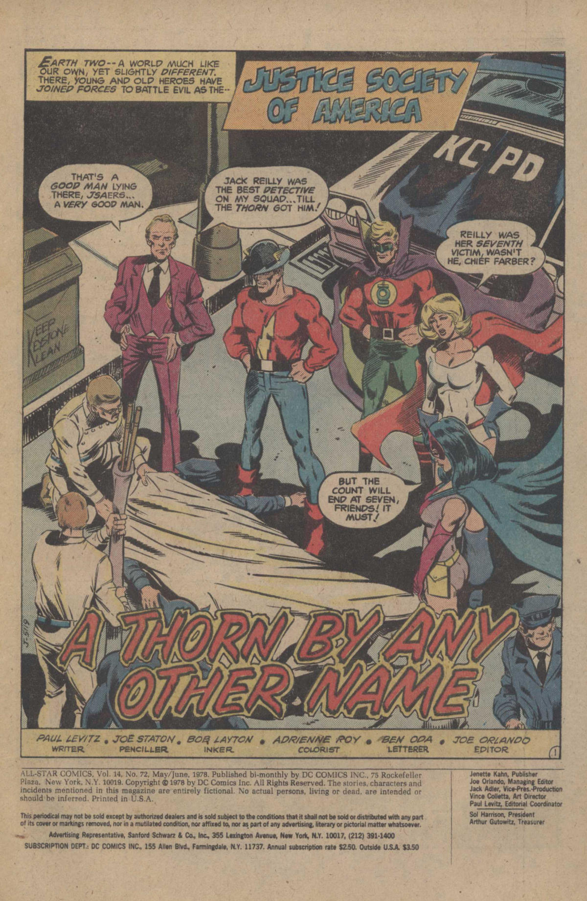 Read online All-Star Comics comic -  Issue #72 - 3