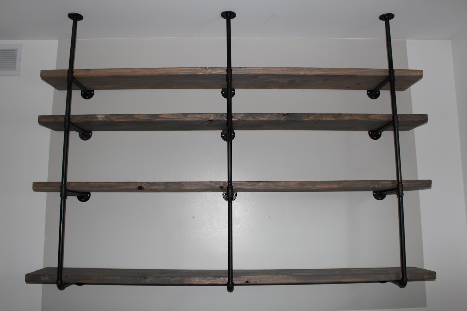 Building Kitchen Wall Shelves