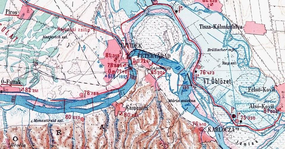 Mapa Novog Sada Sa Okolinom Superjoden