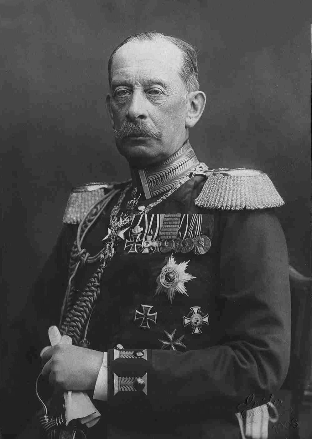 Count Alfred von Schlieffen (1833–1912)