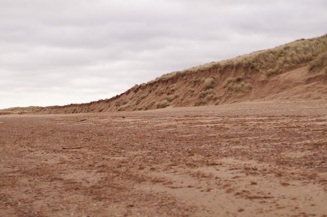 Brancaster beach in February