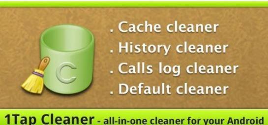 تحميل برنامج 1tap cleaner Pro مجانا لتنظيف وتسريع الاندرويد