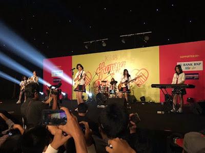 jkt48 band bubar live perform