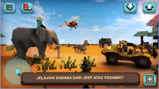 Safari Sabana: Hewan Kotak Apk - Free Download Android Game