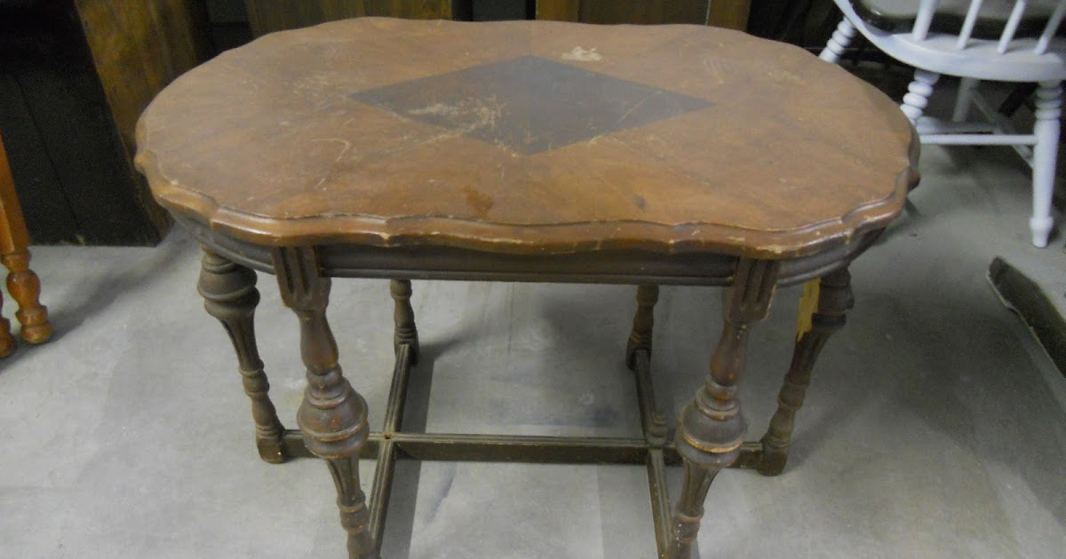 {createinspire}: Antique Peacock Side Table