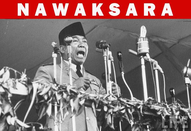 Gambar ilustrasi Nawaksara pidato pertanggungjawaban presiden Soekarno
