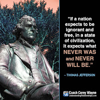 wealth manipulates political freedom