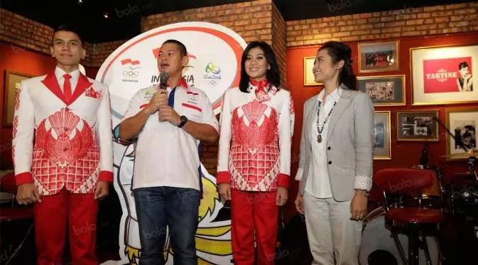 Blazer Merah Putih Di Olimpiade Rio