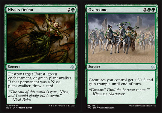 Magic the Gathering Adventures Hour of Devastation Review Green