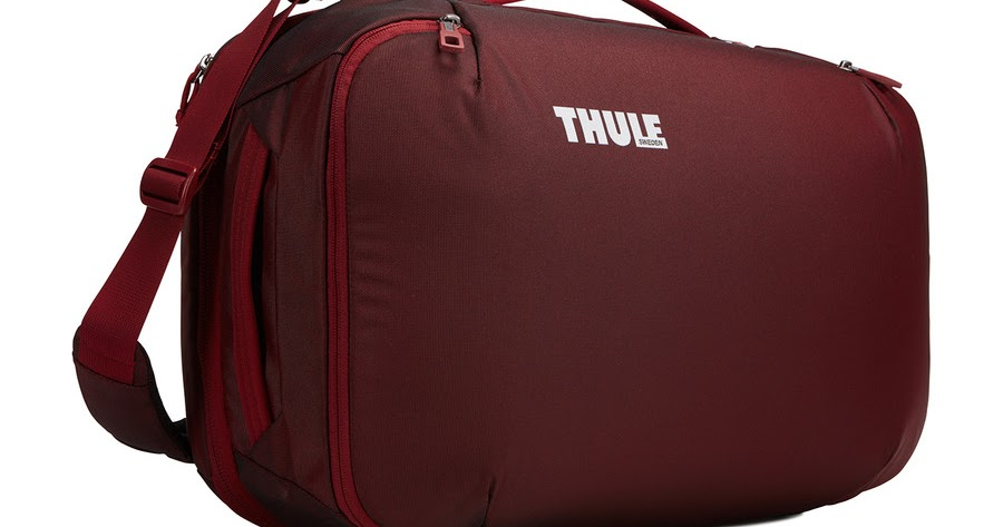 review thule subterra carry on 40l the test pit. Black Bedroom Furniture Sets. Home Design Ideas