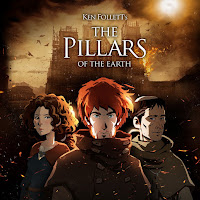 Ken Follett's The Pillars of the Earth Game Logo