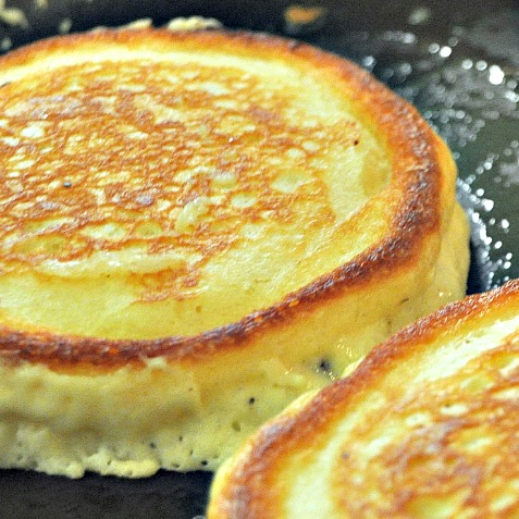 """I am going to give you all a special treat at the end of this post, but for those of us who are on the fly in the mornings, I'm going to share my Secret Ingredient Pancake recipe.  By adding just two simple, secret ingredients to any pancake mix, your family will be raving about your """"homemade pancakes"""" to all their friends.  Promise!"""