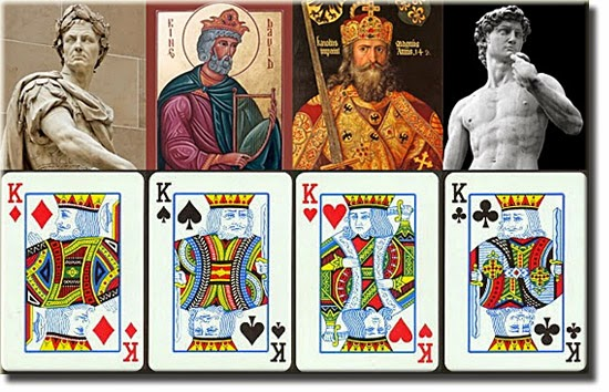 Significado reis cartas baralho