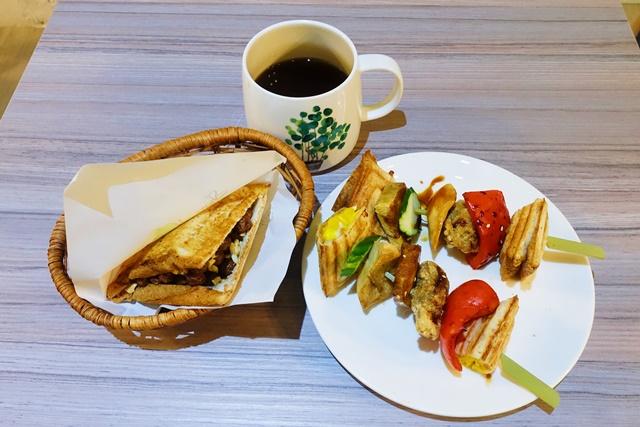 菱紋蔬香咖啡館~板橋新埔捷運站素食