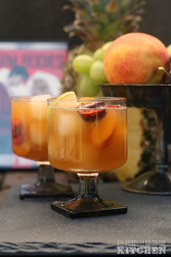 Beer Fruit Cocktail Sangria