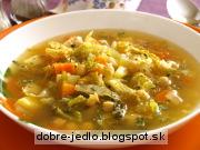 Cícerovo-kelová polievka - recept