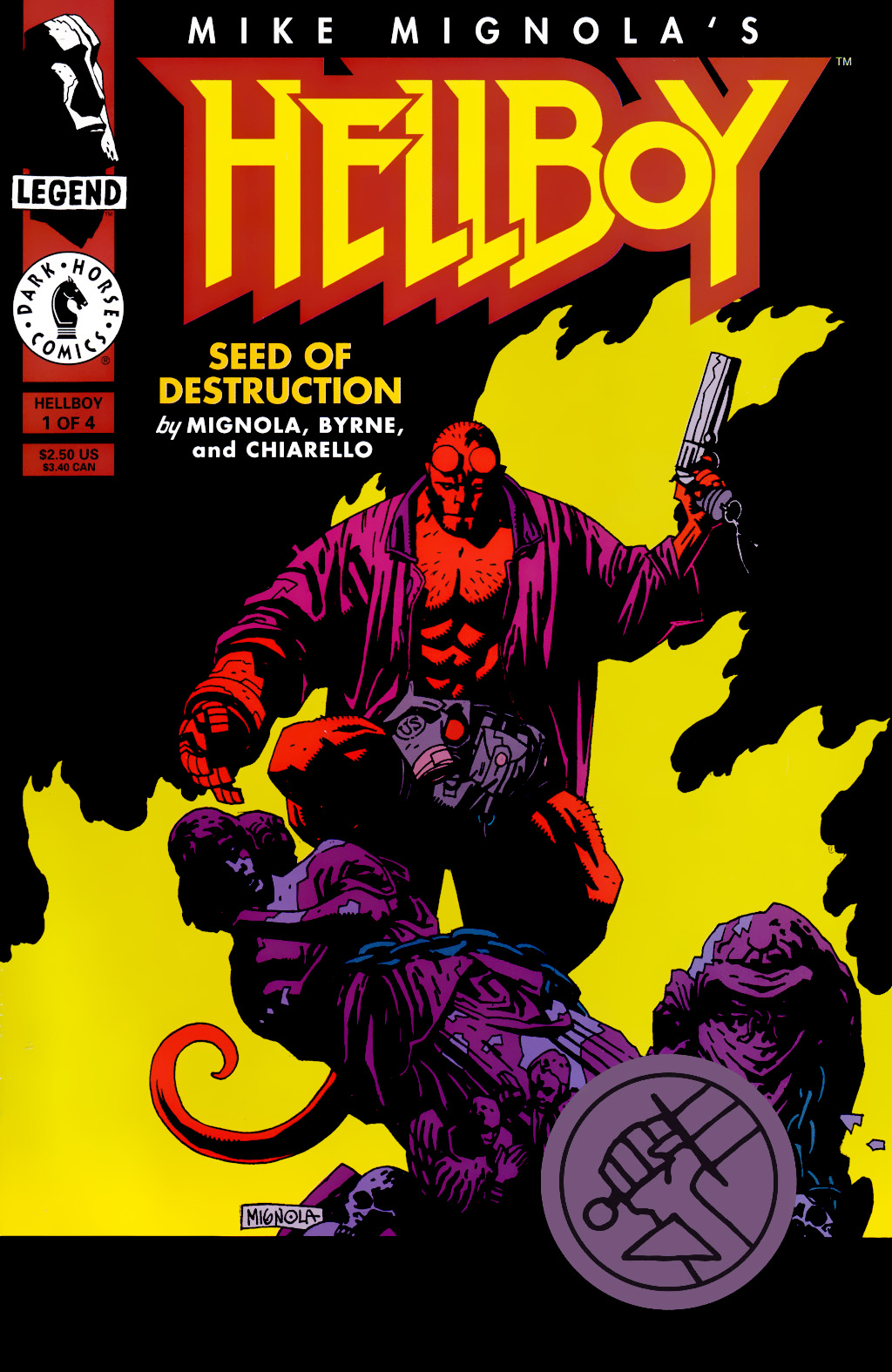 Hellboy: Seed of Destruction 1 Page 1